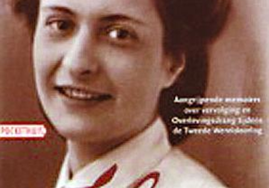 cover of holocaust memoir by Flory Van Beek