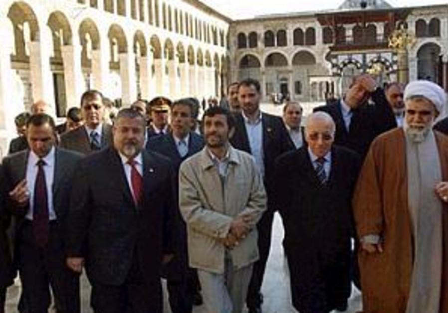 ahmadinejad in syria 298 ap
