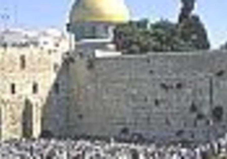 Haredim propose Kotel entry separation