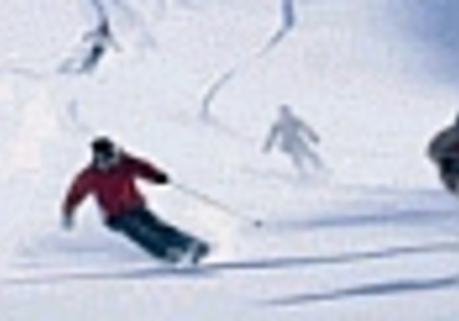 Israel's only skier in Vancouver is ready to go