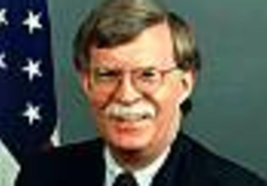Bolton: Bush won't tolerate nuclear Iran