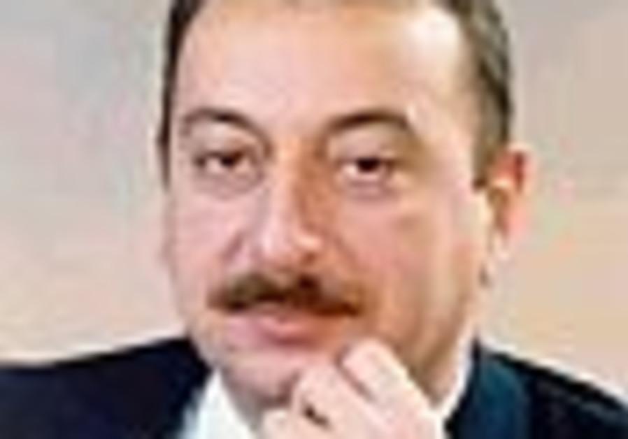 Azerbaijan pres. meets Jewish leaders
