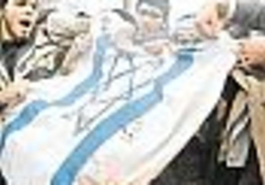 'Satanist' teens allegedly burn flag