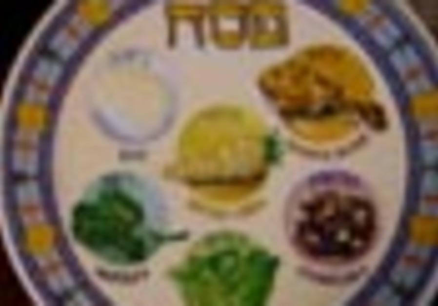pessah plate 88