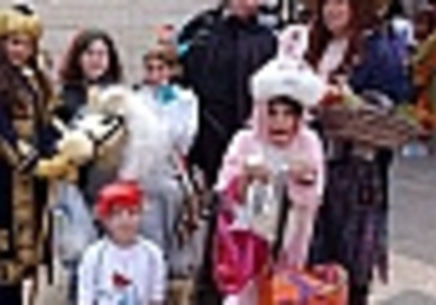 Purim 5767: Quite a megila