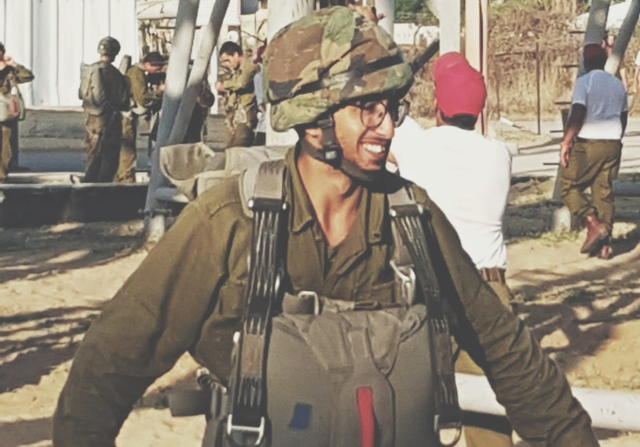 A Haredi soldier in training
