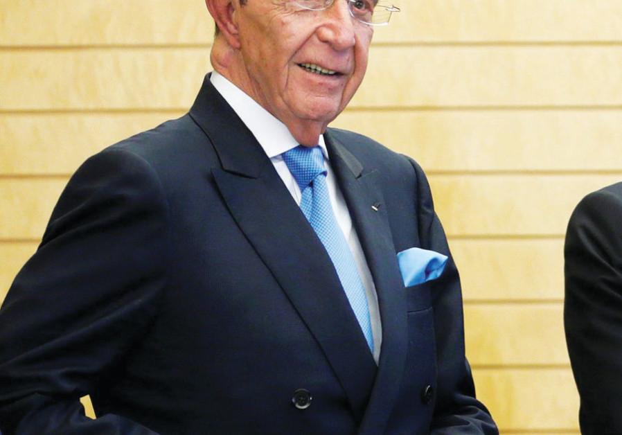 Israeli International Olympic Committee member Alex Gilady (credit: Reuters)