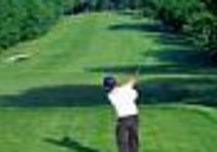 Golf: Ga'ash hosts Stableford tournament to aid new olim