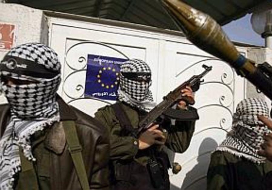 Palestinians storm EU office in Gaza