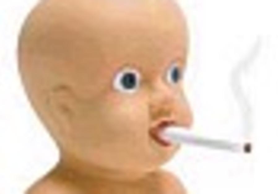 smoking baby 88