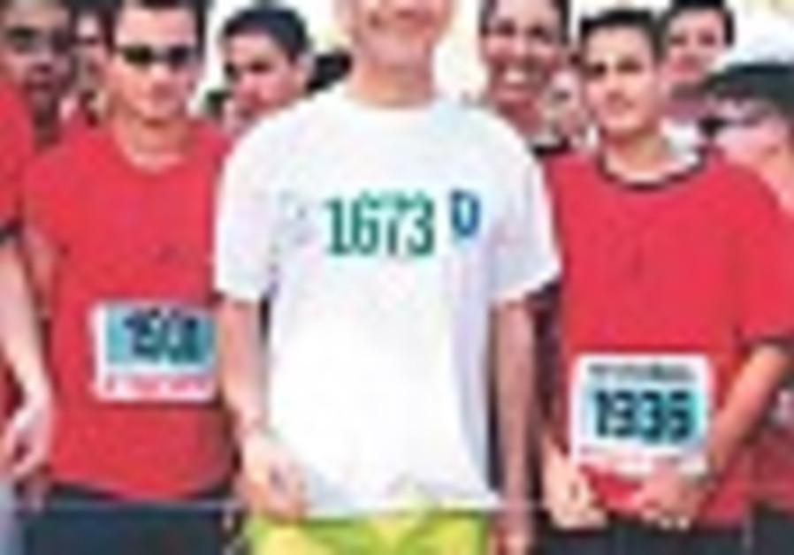 olmert jogging 88