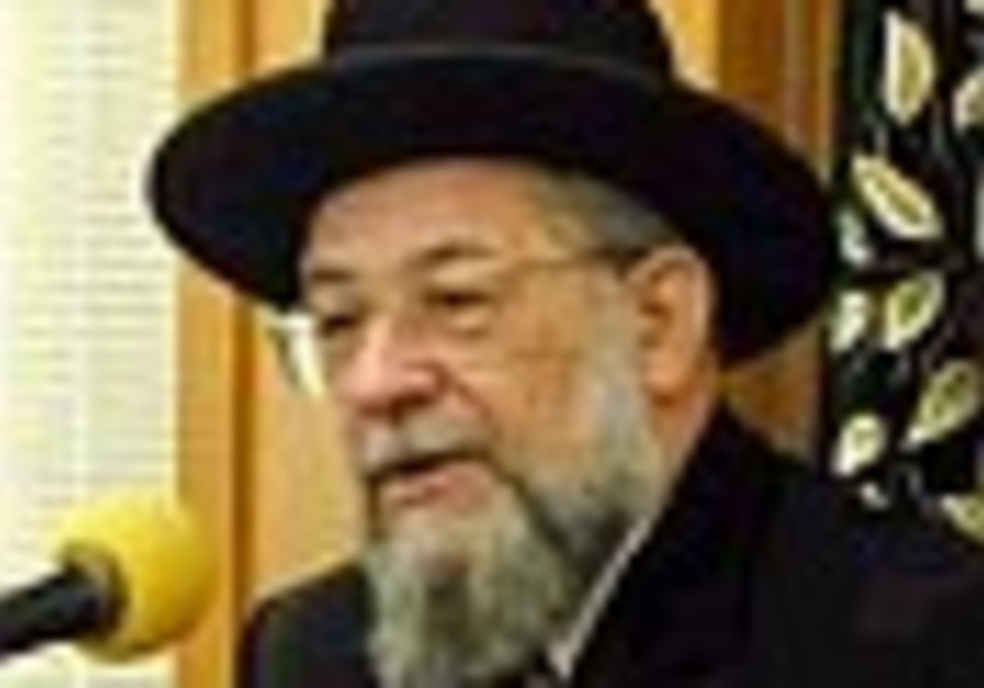 Chief rabbis urge secular to fast