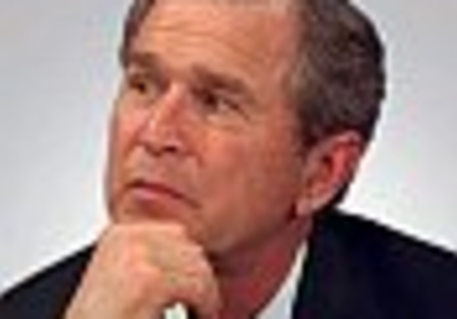 George W Bush thinking 88