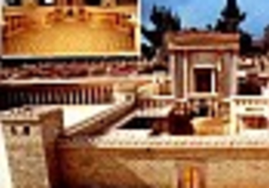Second Temple Model moves to Israel Museum