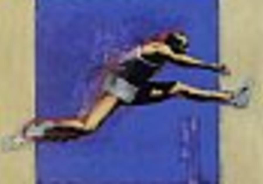 hurdle running 88