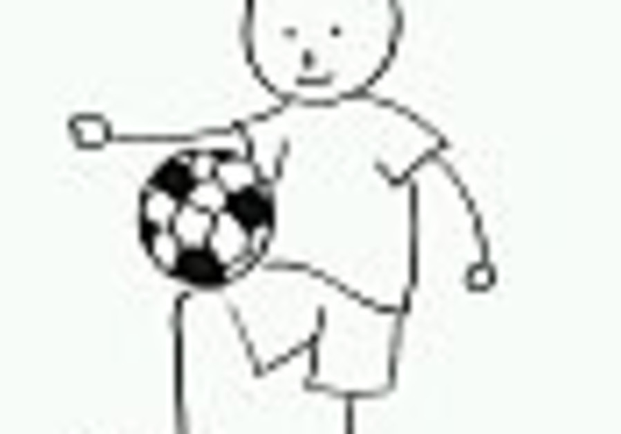 soccer football boy drawn 88
