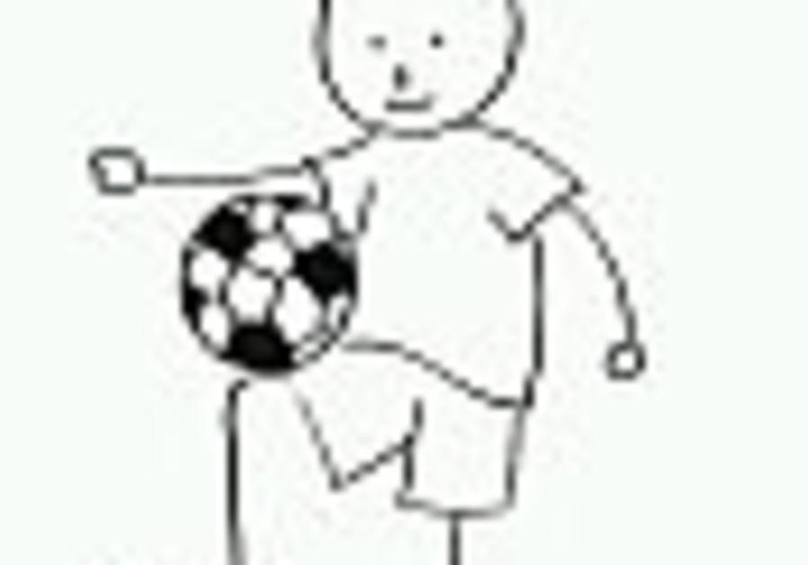 soccer football boy drawn 88