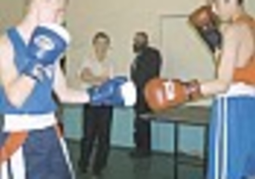 Israeli boxers spar with their dreams