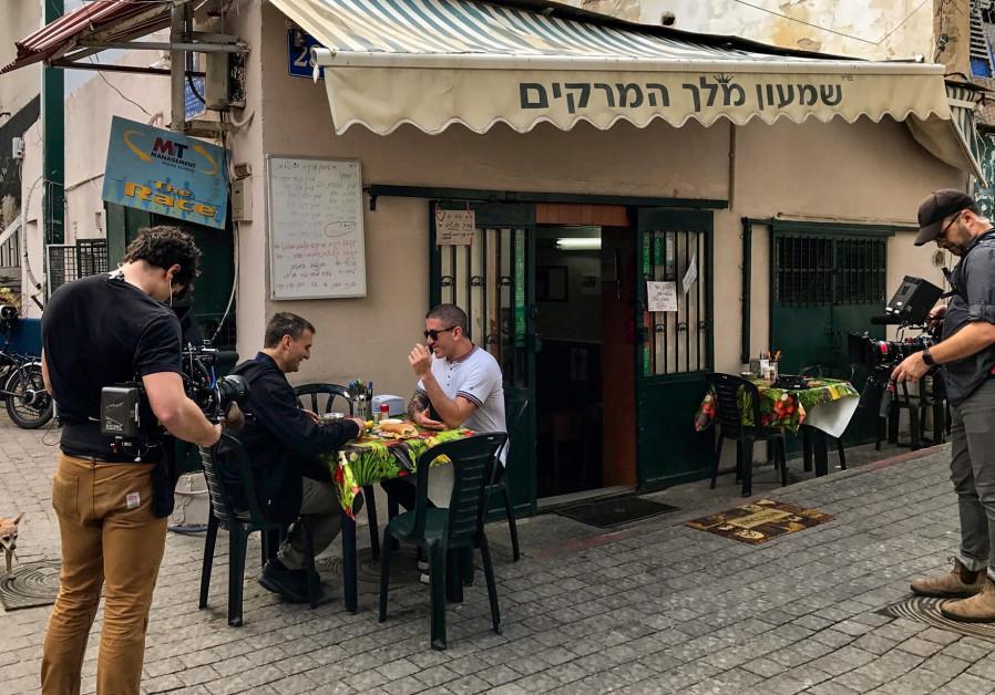 Israeli Chef Michael Solomonov guest stars on the Netflix show 'Sombody Feed Phil.'
