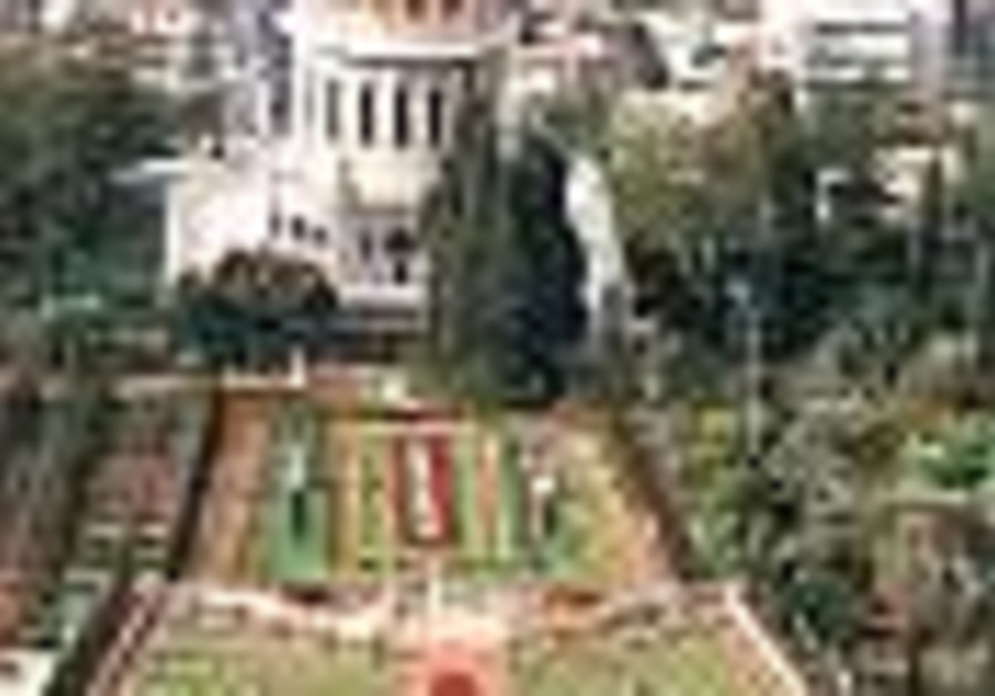 Haifa's Baha'i temple - a tempting target for Hizbullah?