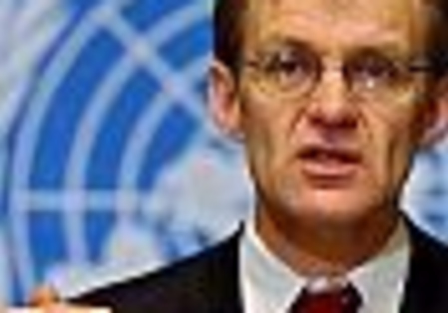 UN aid chief says Israel has 'created a generation of hatred'