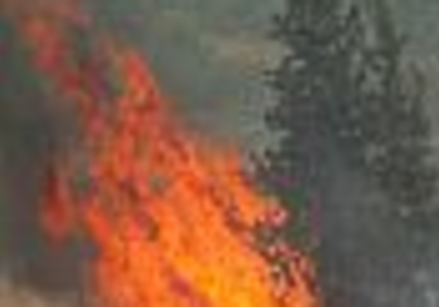 Western US wildfires threaten thousands of homes