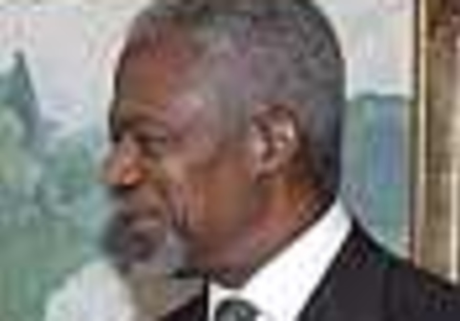 Whither Annan?