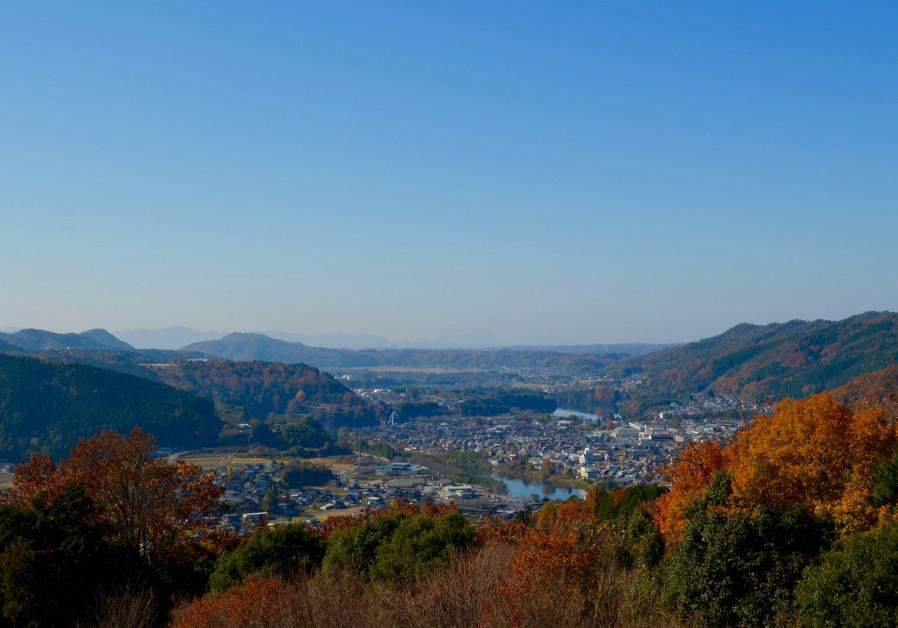 The city of Yaotsu, in Japan's Gifu prefecture, where a memorial hall has been built in honor of Chiune Sugihara. (Michael Wilner, November 2017)