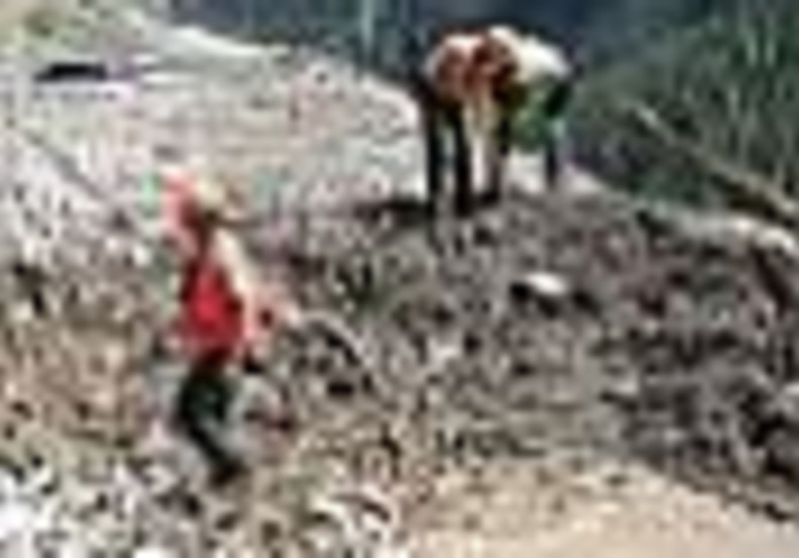 Nepal mudslide washes away village, kills dozens