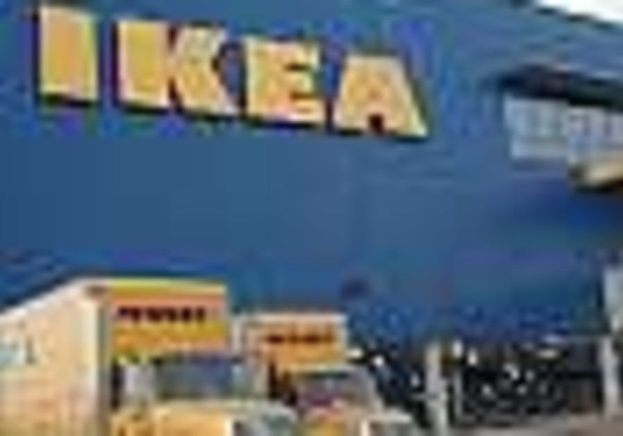 firefighters control fire at ikea store in netanya. Black Bedroom Furniture Sets. Home Design Ideas