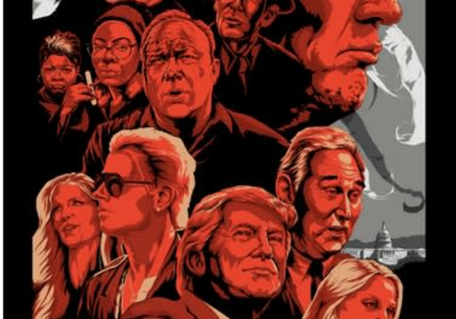 A 'Make America Great Again' poster for sale by Infowars (credit: Screenshot)