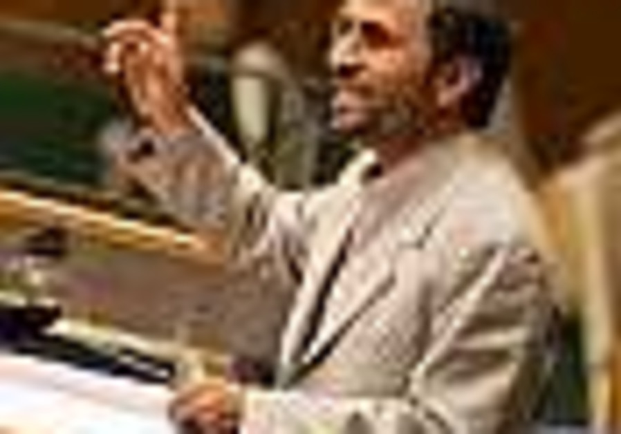 Ahmadinejad: UNSC pawn of US and UK