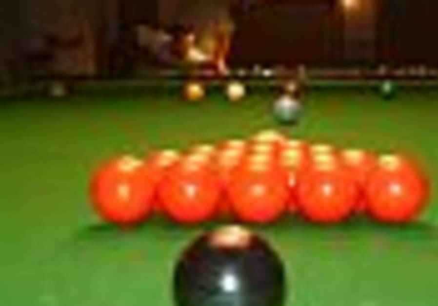 Snooker federation asks Israel not to show up in Amman for worlds