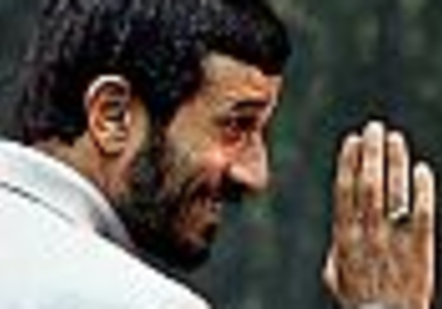 The First Word: Ahmadinejad intrudes