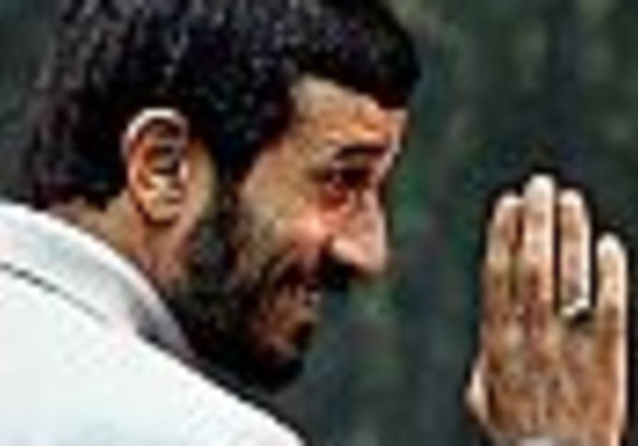 The First Word: Ahmadinejad intrudes