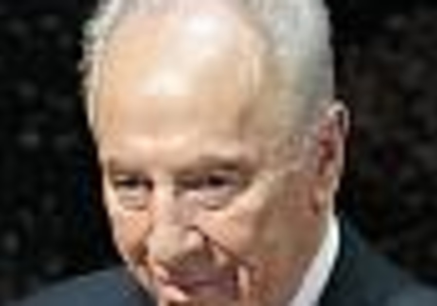 Shimon Peres becomes 9th president