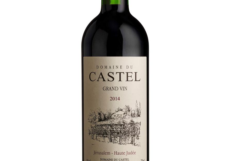 Grand Castel Vin, the prestige wine of the Domaine du Castel winery (Elad Brami)