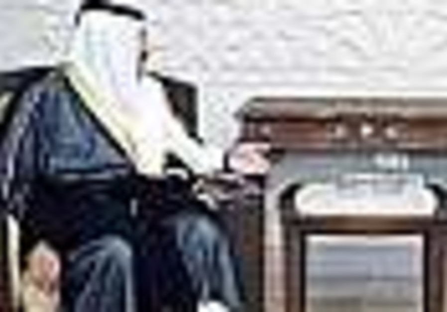 Qatari FM meets with Assad, Mashaal in Damascus