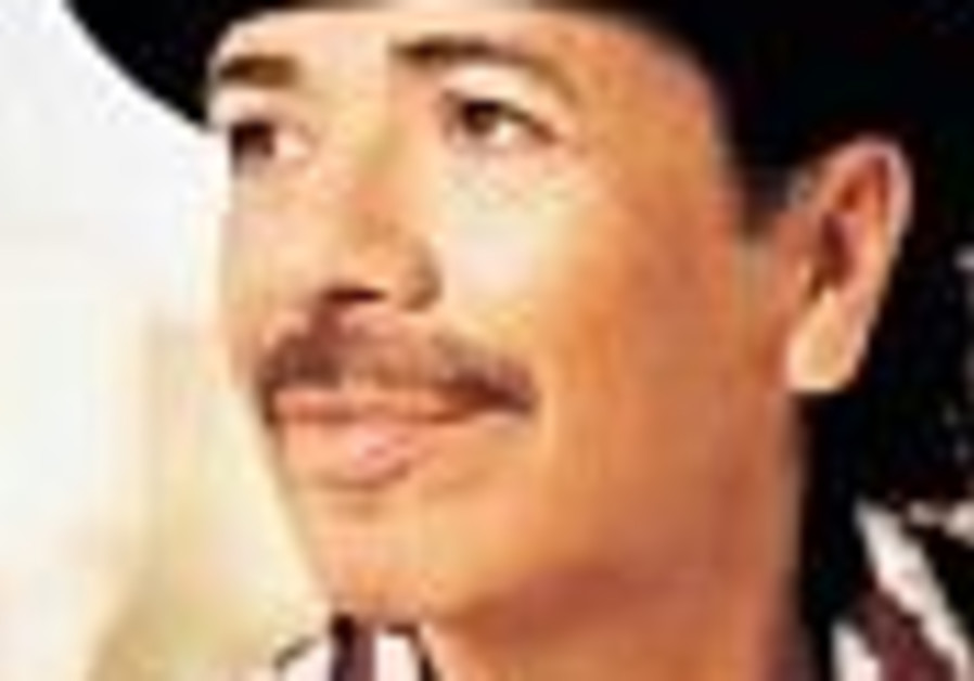 Carlos Santana to perform in Jerusalem