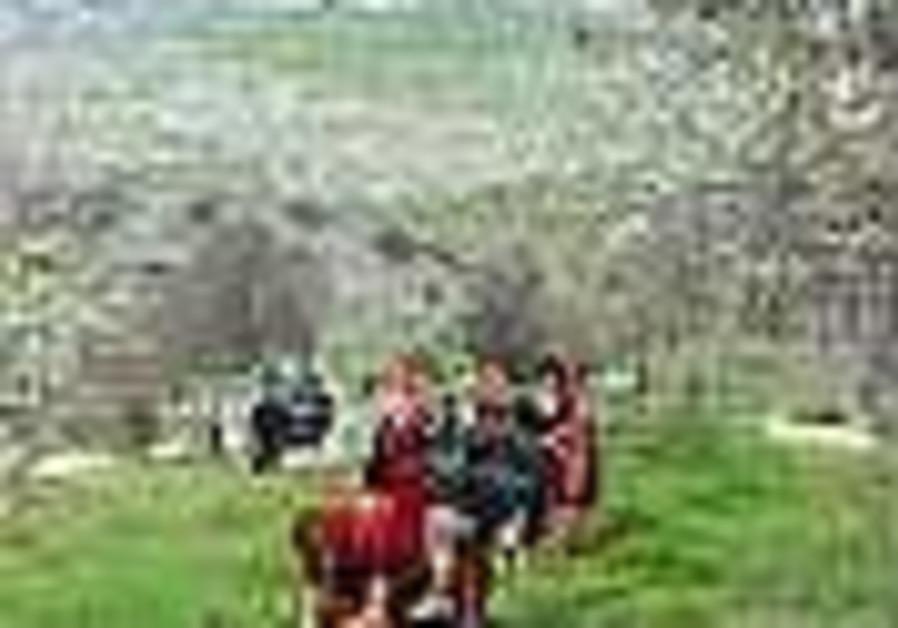 Through Park Britannia to Beit Guvrin