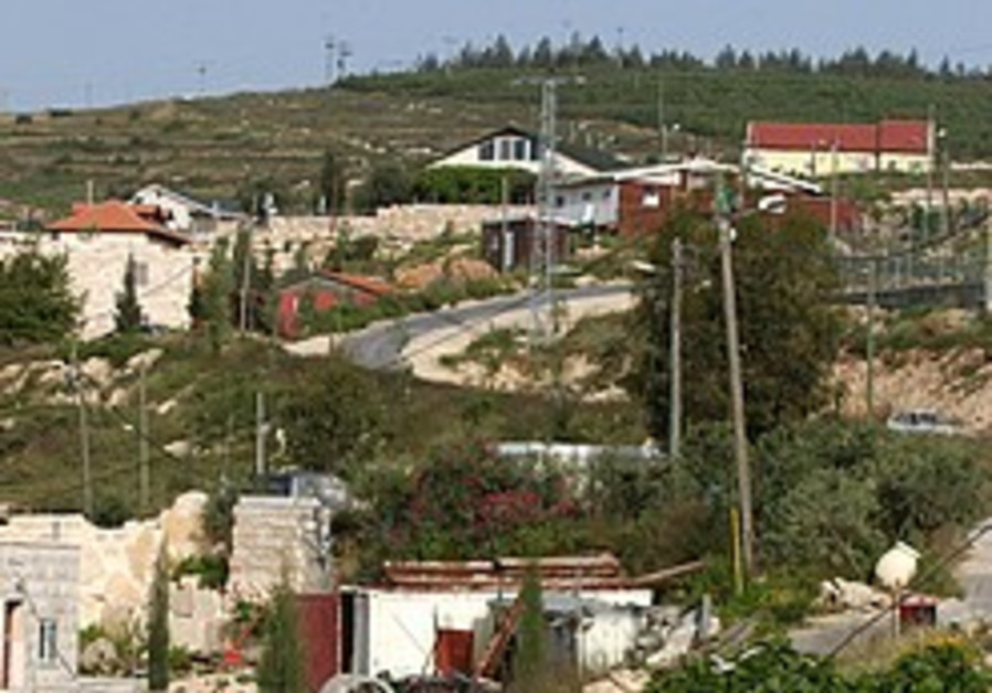 The settlement freeze - a definitive test of Israel's intentions