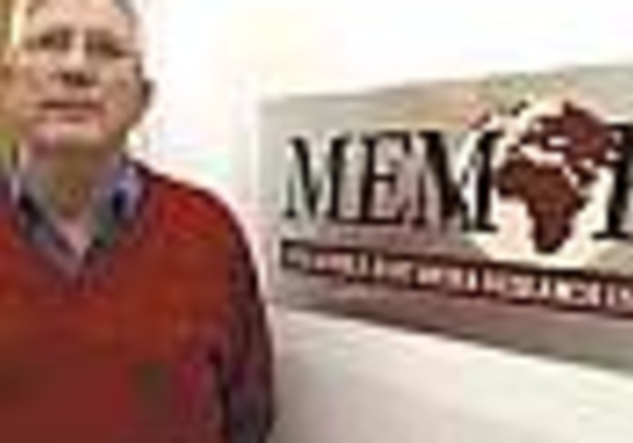 One on One with Yigal Carmon: If MEMRI serves...