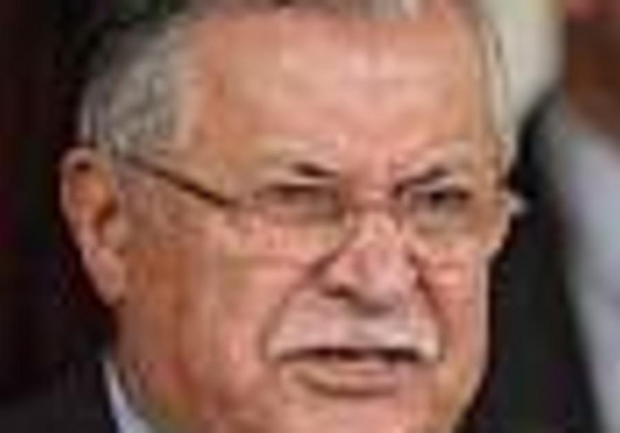 Iraq's Talabani visits ailing cleric in Iran