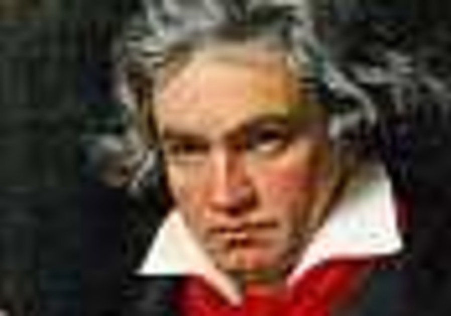 Beethoven, the wrestler