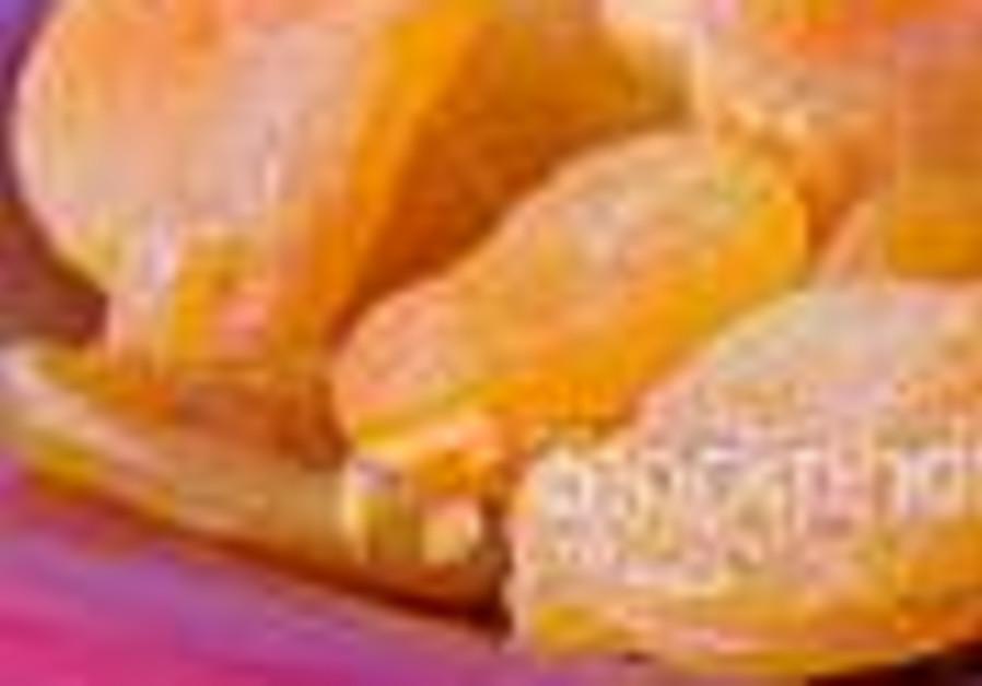 A golden treat for Tu Bishvat