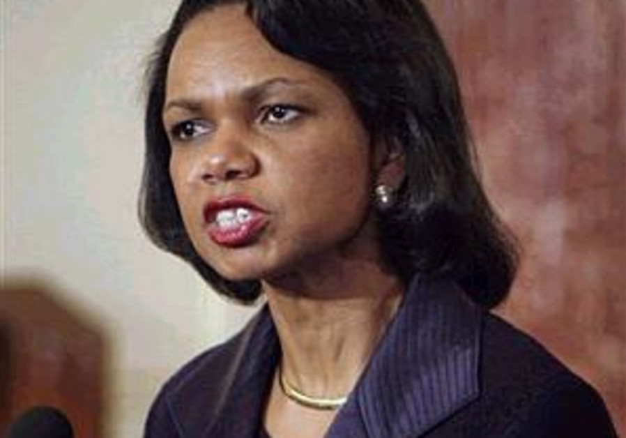 Rice: Middle East has 'everything at stake' in Iraq