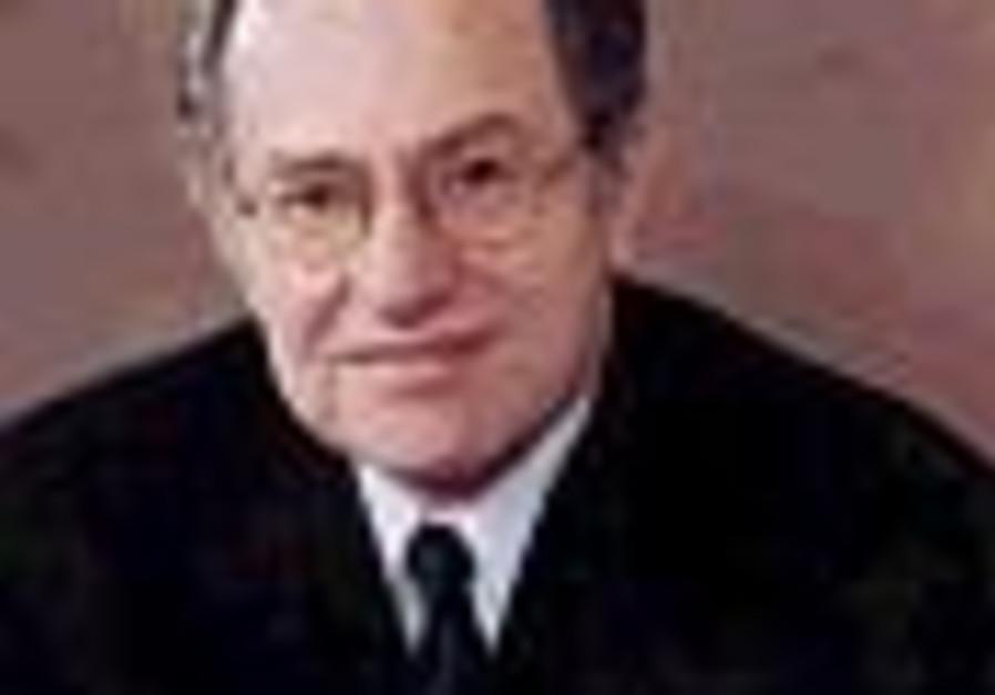 Dershowitz, Finkelstein and a bitter tenure battle