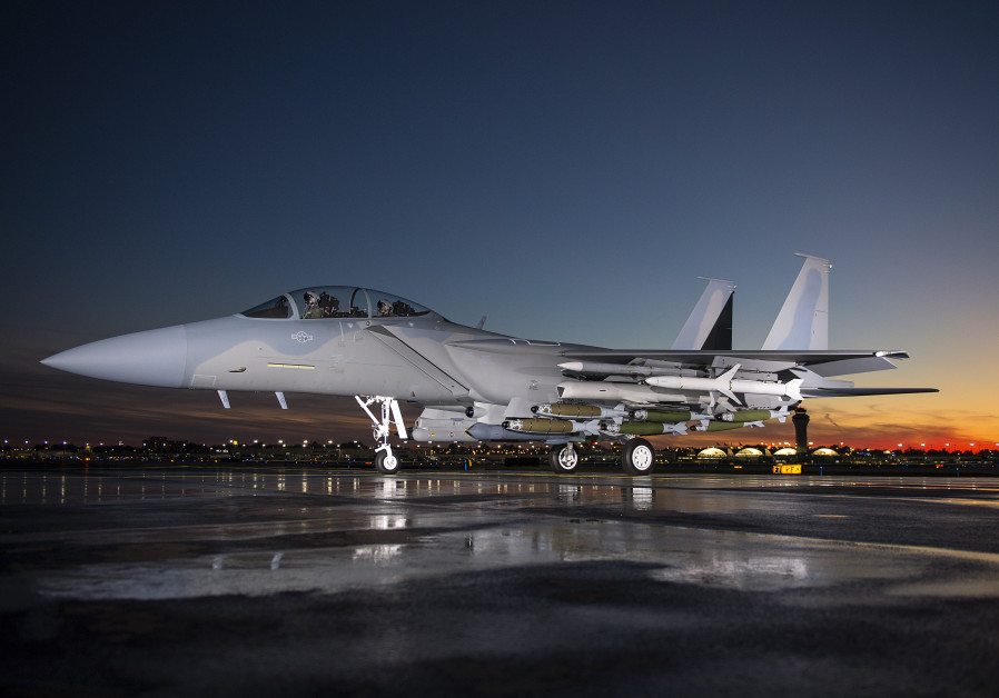 Boeing's F-15IA Advanced fighter jet / BOEING