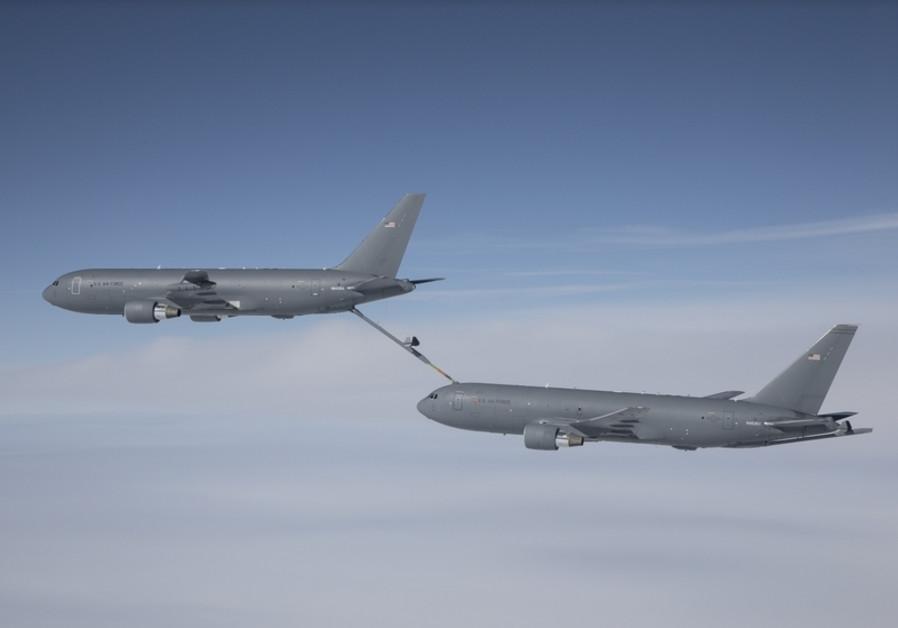Boeing's KC-46 aerial refueling tanker / BOEING