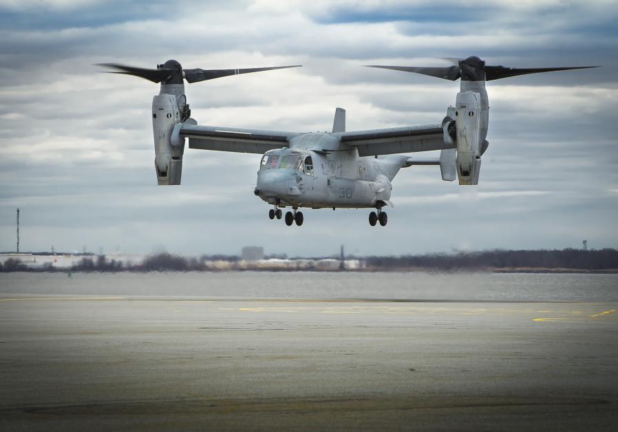 Boeing's V-22 Osprey tiltrotor aircraft / BOEING